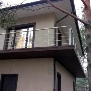 балкона из нержавеющей стали №1