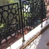 балкона с лазерной резкой №1