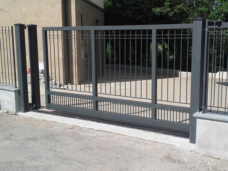 металлические ворота №1