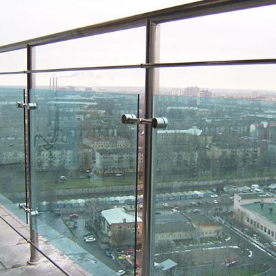 балконов из стекла