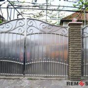 Ворота из нержавеющей стали №10