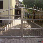 Ворота из нержавеющей стали №3