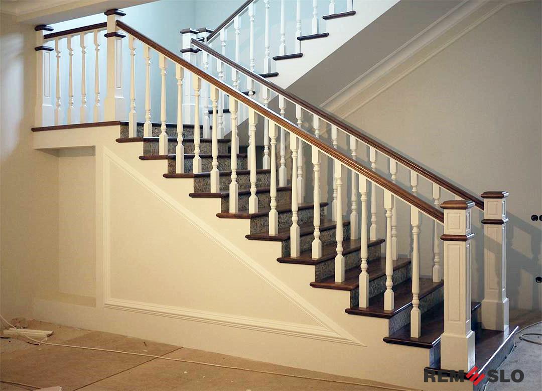 ограждение лестницы №4