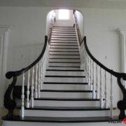 Деревянное ограждение лестницы №5