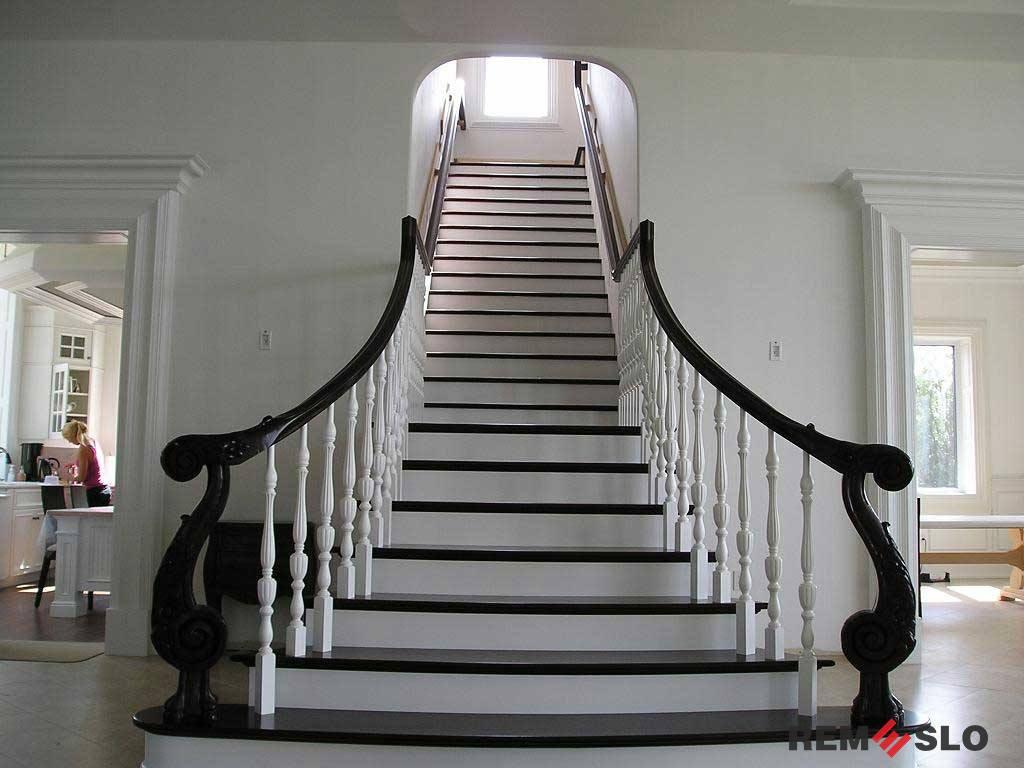 ограждение лестницы №5