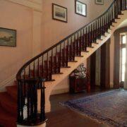 Деревянное ограждение лестницы №6