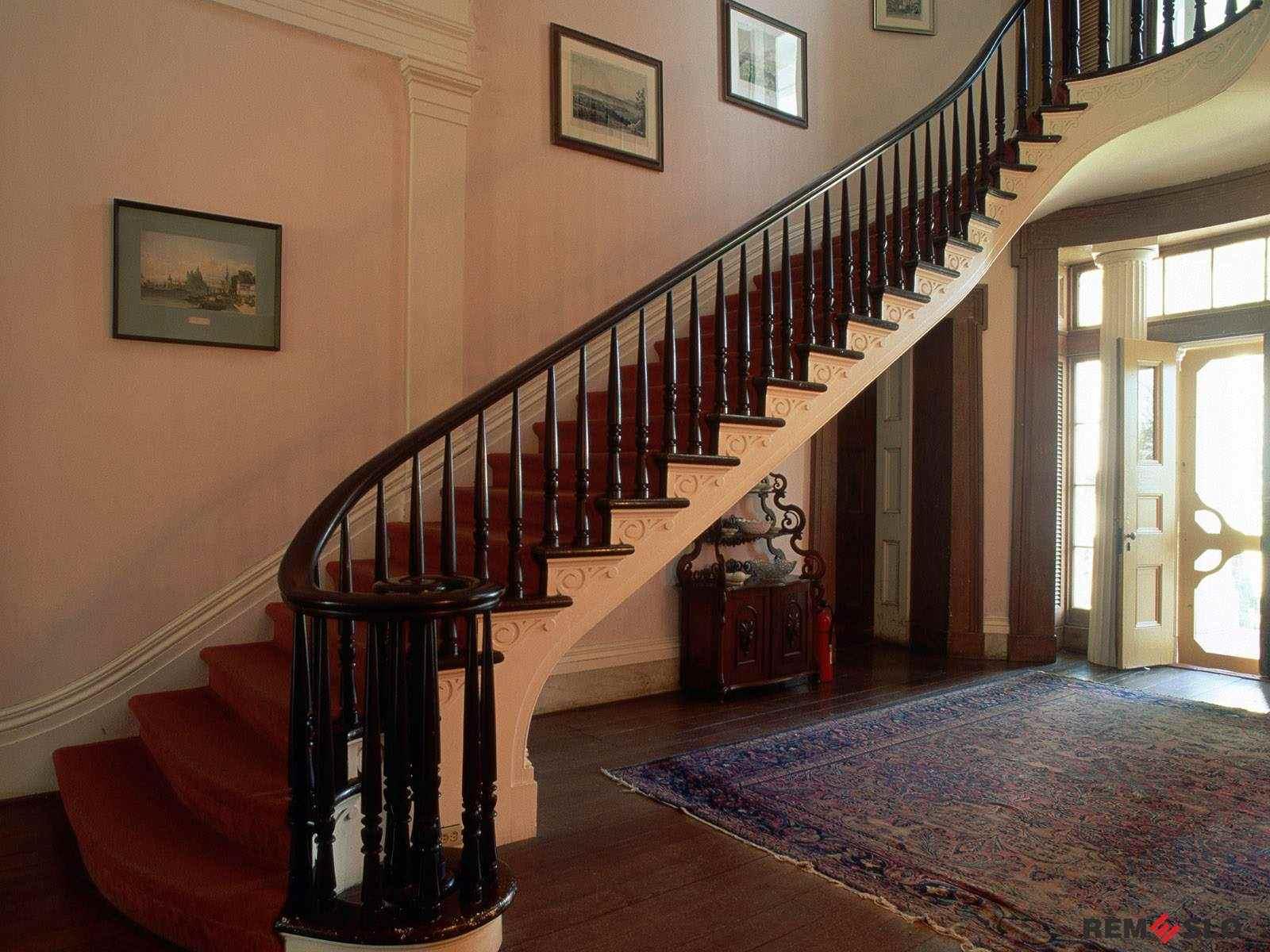 ограждение лестницы №6