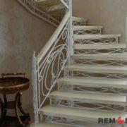 Кованая лестница №11