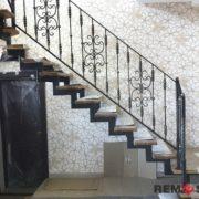 Лестница на второй этаж №11