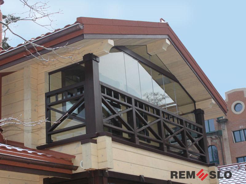 балкона из дерева №3