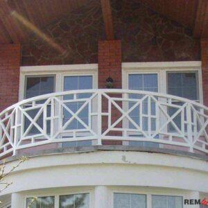 балкона из дерева №5