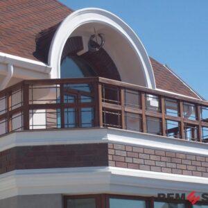 балкона из дерева №6