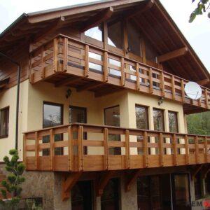 балкона из дерева №9