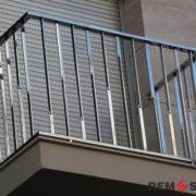 Ограждение балкона из нержавеющей стали №5