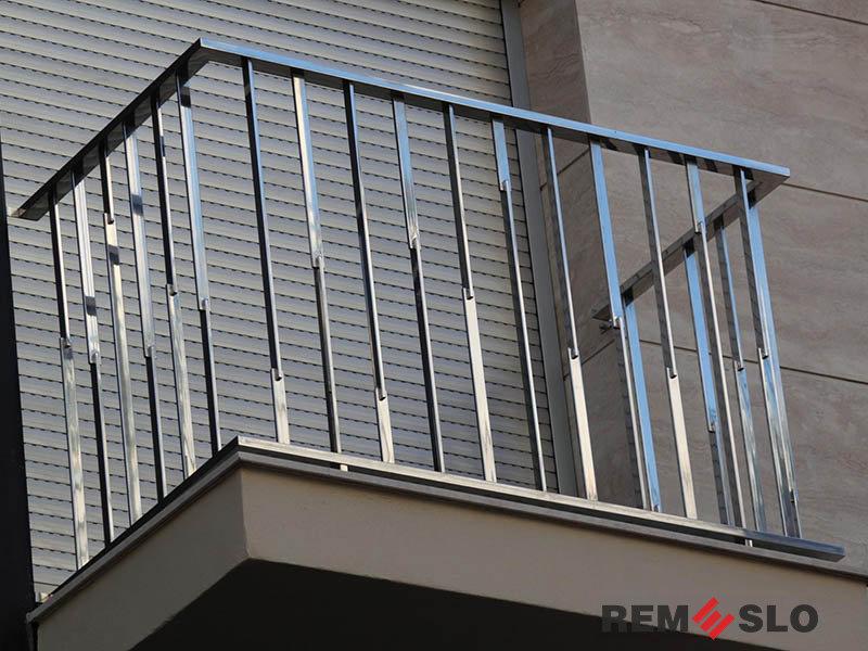 балкона из нержавеющей стали №5