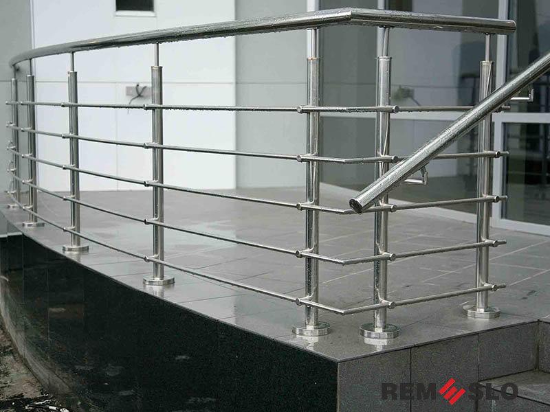 балкона из нержавеющей стали №9