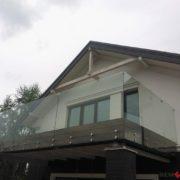 Ограждение балкона из стекла №3