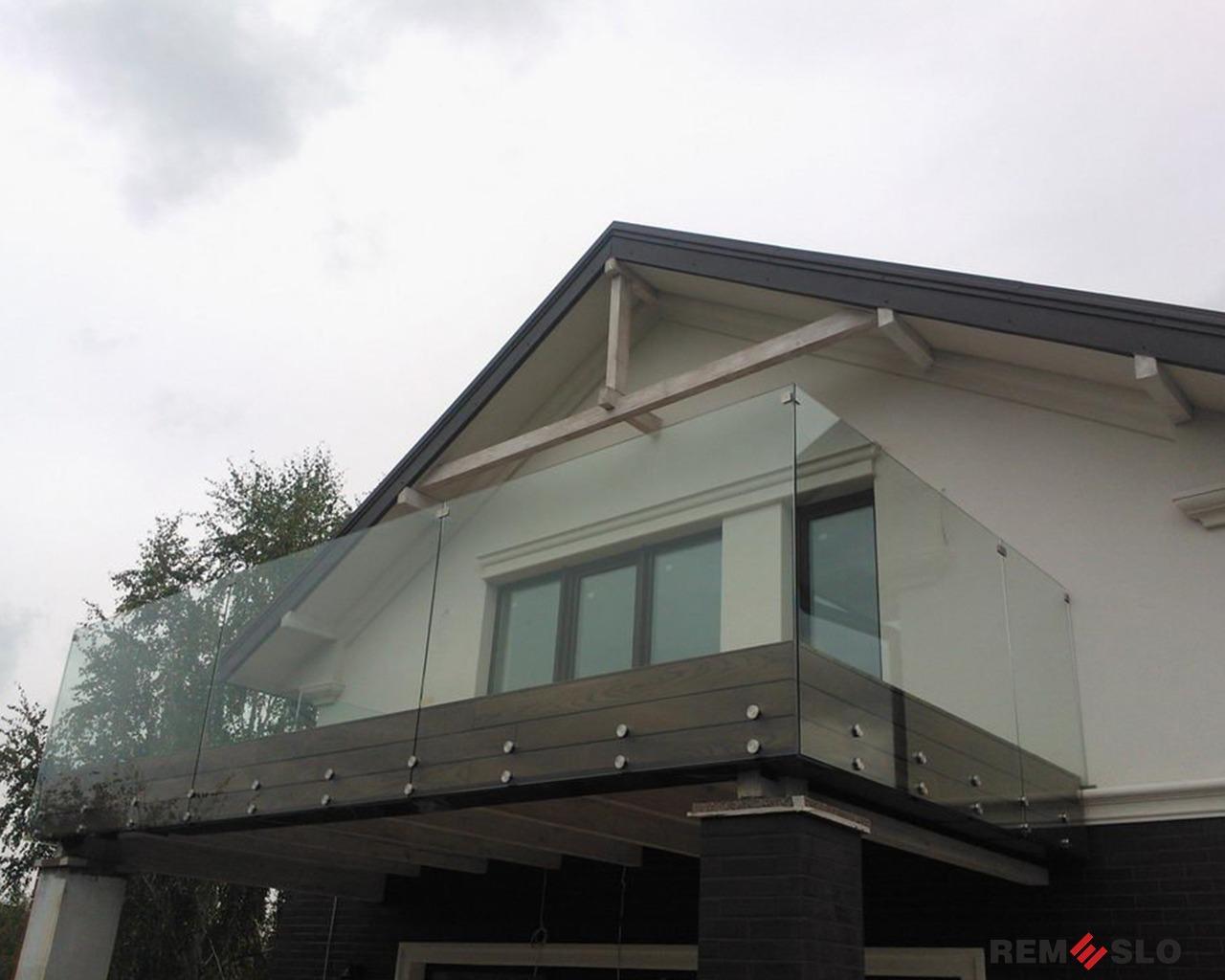балкона из стекла №3