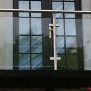 Ограждение балкона из стекла №4