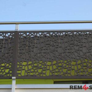 балкона с лазерной резкой №2