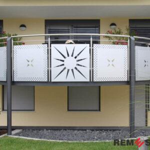 балкона с лазерной резкой №4