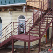 Уличная лестница №3