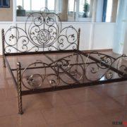 Кованая кровать №8
