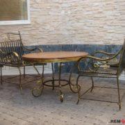 Кованый стол №4