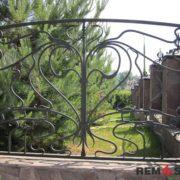 Кованый забор №5