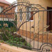 Кованый забор №9