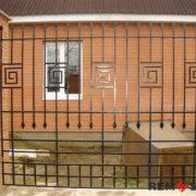 Металлический забор №12
