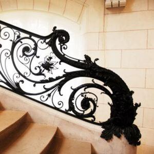 Ограждение лестниц, перила