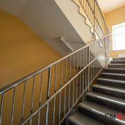 Ограждения лестниц из нержавеющей стали №002