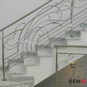 лестниц из нержавеющей стали №004