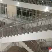 Ограждения лестниц из нержавеющей стали №005
