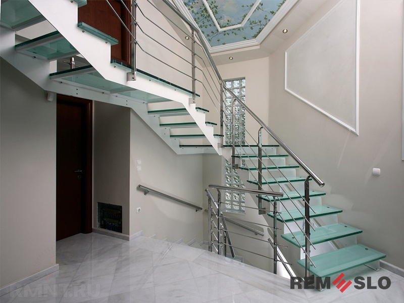 лестниц из нержавеющей стали №012