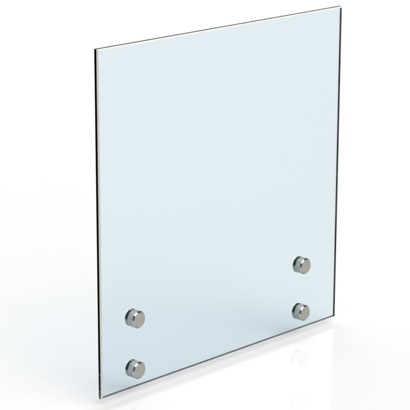 Остекление с точечным стеклодержателем