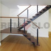 Лестница на каркасе 11