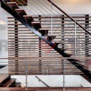 Лестница на каркасе 12