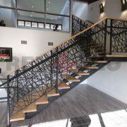 Лестница на каркасе 14