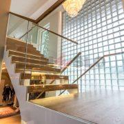 Лестница на каркасе 25