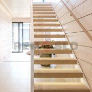 Лестница на каркасе 29