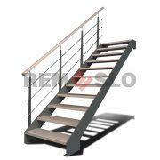 Лестницы на тетиве с применением лазерной резки