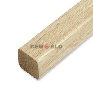 Поручень деревянный 50×50 мм, кавказский дуб, 4 метра