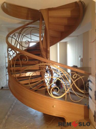 Винтовая лестница№12