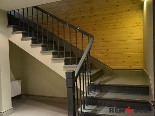 Деревянная лестница №19