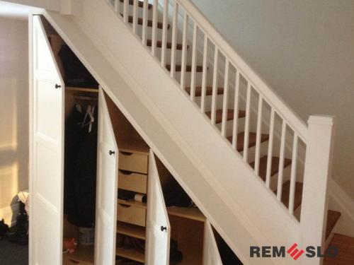 Деревянная лестница №25