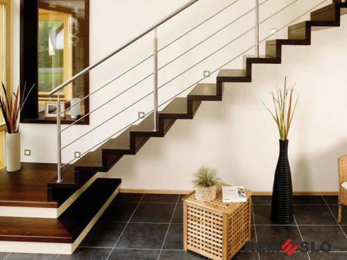 Деревянная лестница №26