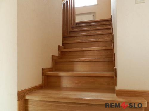 Деревянная лестница №29