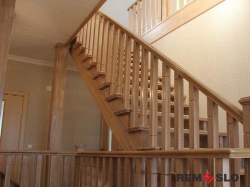 Деревянная лестница №31